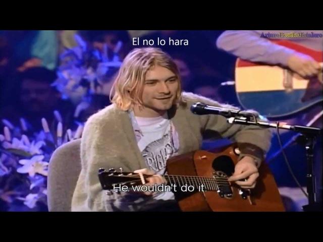 Nirvana Where Did You Sleep Last Night Subtitulado HD