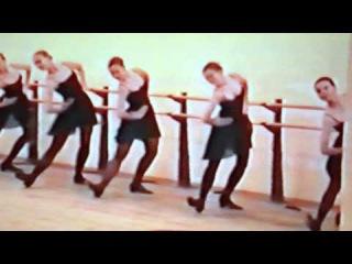 Народный танец, каблучное упражнение-Хава нагила.