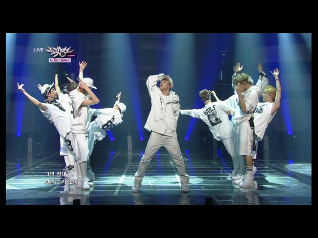 2013.06.14 EXO 엑소 Front-Runner Stage '늑대와 미녀 (Wolf)' KBS MUSIC BANK