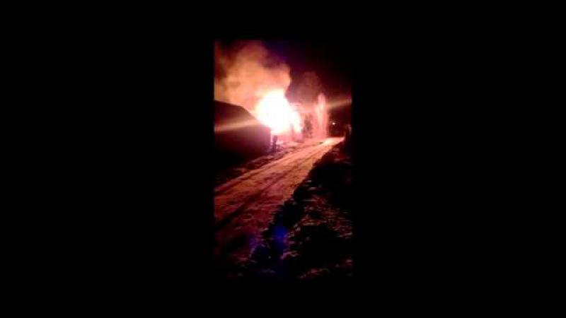 Пожар в Малорите