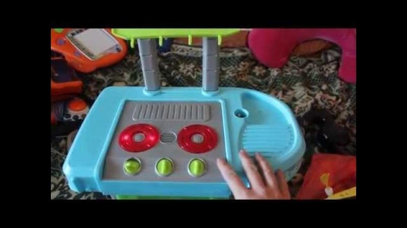 Видео обзоры детских игрушек - Газовая Плита для детей (kidtoy.in.ua) 2015