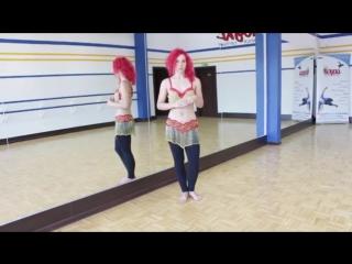 Jak zrobić drop_ - Taniec brzucha Weronika SAHAR Litwin OPOLE