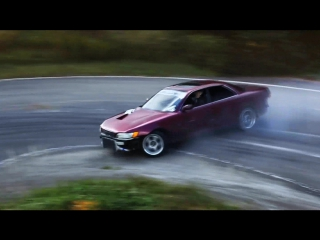 Drift Vine | Toyota Mark 2 jzx90 in Touge course