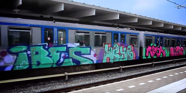 graffiti holland