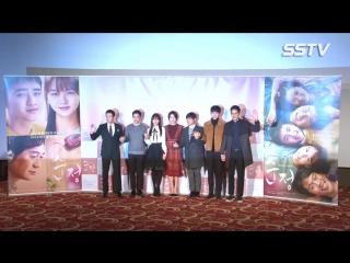 "[SSTV] 도경수(엑소 디오) ""누군가 이렇게 많이 업은 건 처음…김소현 깃털 같았지만 힘들었다"" (순정 제작보고회) 160104 exo do @ Pure Love Movie Press Conference"