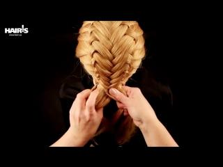 Учимся плести французские косы с колоском