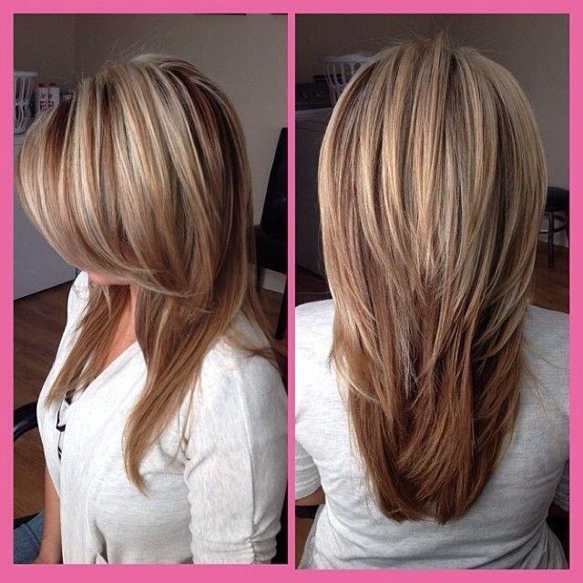 Стрижки на длинные волосы придающие объем
