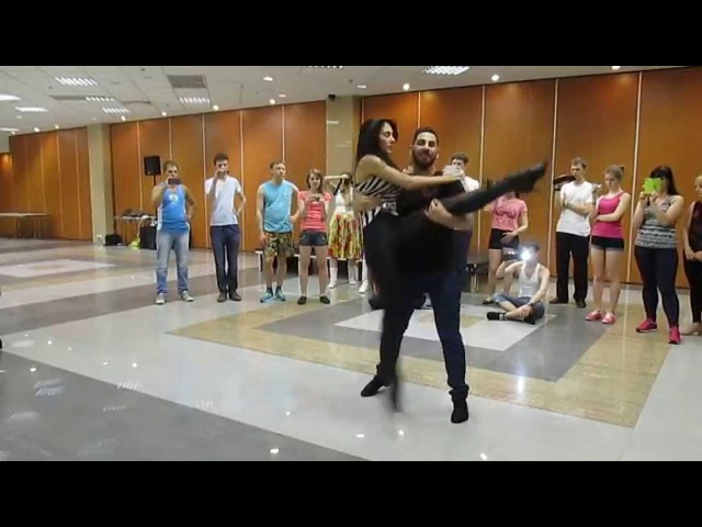 Daniel and Desiree [bachata sensual] Lifts and Tricks
