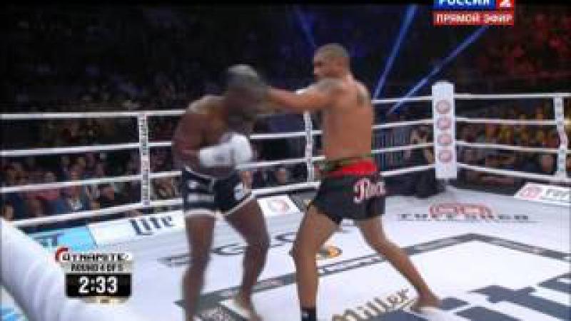 Bellator MMA Saulo Cavalari vs Zack Mwekassa Full Fight 19.09 .015