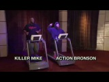 Treadmill Rap Battle Action Bronson Killer Mike The Eric Andre Show Adult Swim
