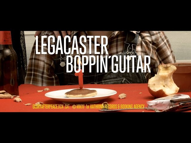 LEGACASTER BOPPIN' GUITAR Official Videoclip Kathrina Records