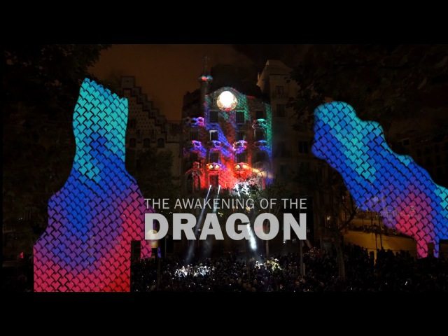 Mapping The Awakening of the Dragon Casa Batlló 2015