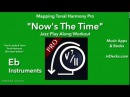 Now's The Time play along Eb Instruments (created using Mapping Tonal Harmony Pro)