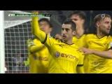 Henrik Mkhitaryan goal - Augsburg vs Borussia Dortmund 0-2 (DFB Cup 2015)