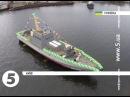 Броньований артилерійський катер Гюрза М вийшов у води Дніпра