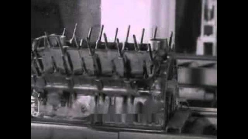 Восстановление блоков цилиндров ГАЗ-53 1985