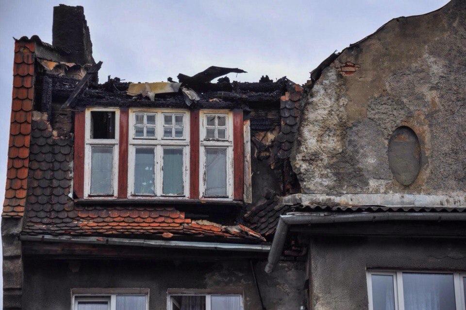 Неманские вести: Остались без крыши. Пожар в Немане