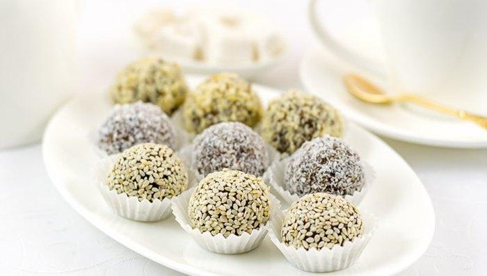 Натуральные конфеты из сухофруктов и орехов