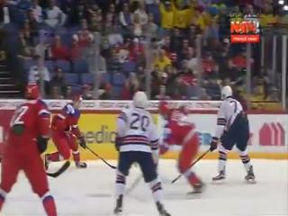 Россия США Хоккей 2016 Russia United States 1_2 Ice Hockey World Youth Championship in 2016 1-1