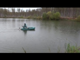 Шуруповёрт вместо лодочного мотора