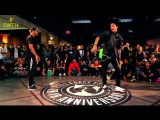 Les twins strife dance battle