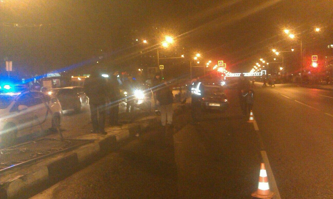 Пьяный харьковчанин начудил на главной магистрали города  (ФОТО)