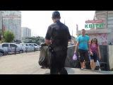Новая киевская полиция: штрафует за курение в общественном месте
