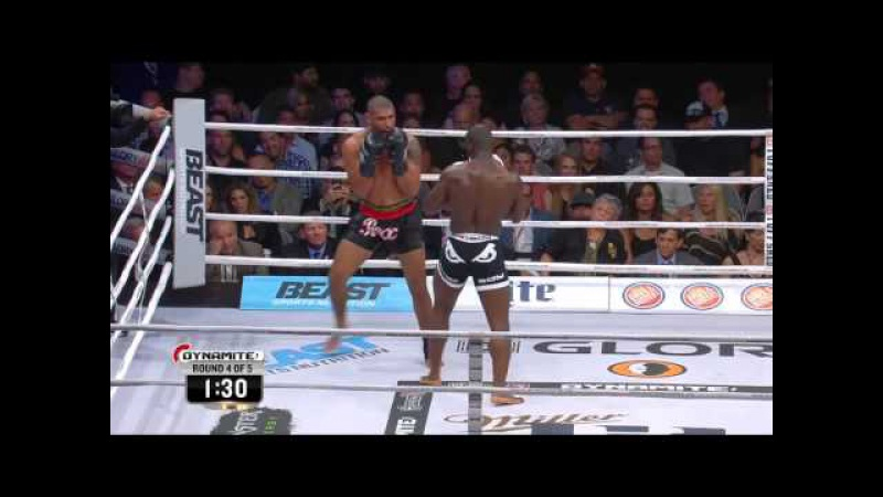 Dynamite 1 - Saulo Cavalari VS Zack Mwekassa (Light Heavyweight Title Fight)