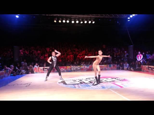 Karina Ninja vs Voodoo Zanoza NEW WAY vogue final at STREET STAR Vogue Ball 2013