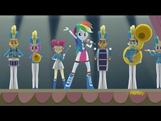 EQG Friendship Games Song: CHS Rally Song [Extended]