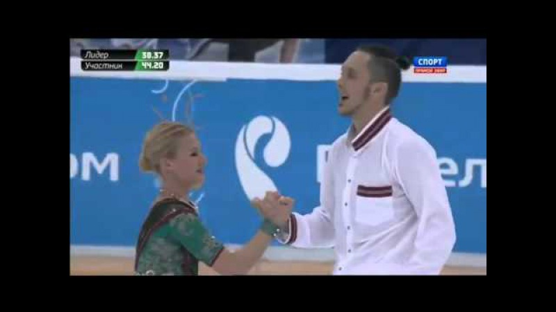 Татьяна Волосожар Максим Траньков Короткая программа Чемпионат России 2016