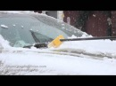 Snowy Thanksgiving in Cumberland, WI - 11262015