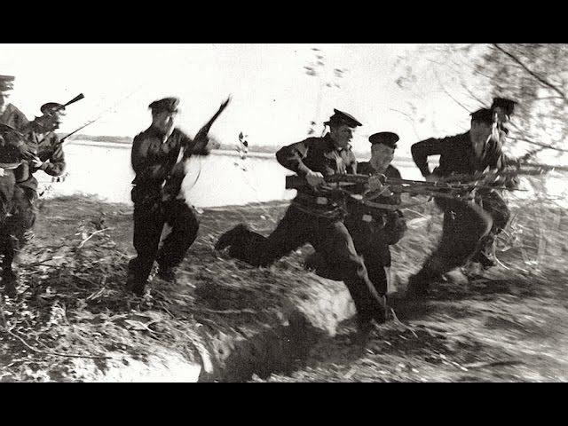 1941 год. Героическая оборона 22-28 июня, военно-морской базы Лиепая,. Документальный фильм.