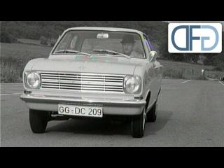 Opel Rekord B, Opel Kadett B und Opel Admiral zur IAA 1965