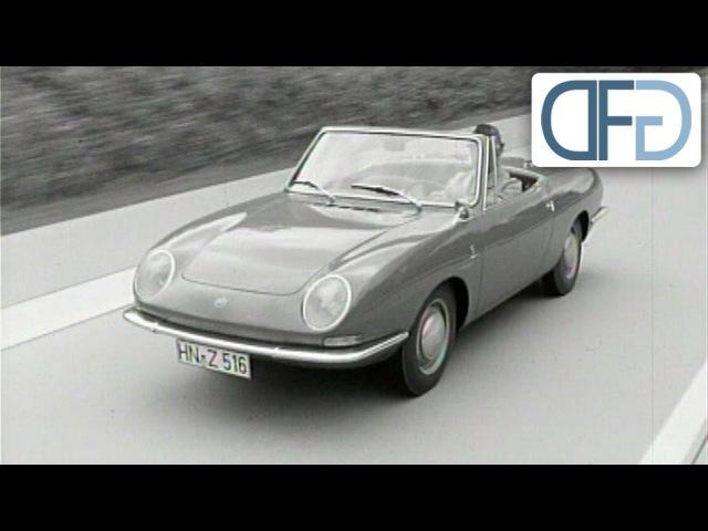 IAA 1965 Fiat 850 Spider Opel Rekord B Peugeot 204 Audi F103 VW 1600 TL