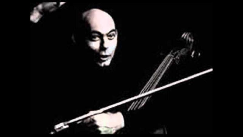 Janos Starker plays Paganini Caprice 13