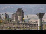 Maroc cité antique de Volubilis vidéo en 4K (Ultra Haute Definition)