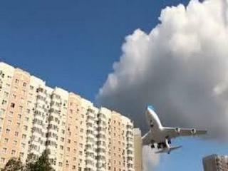 Экипаж и Экстремальная посадка самолета. Видео из кабины пилота