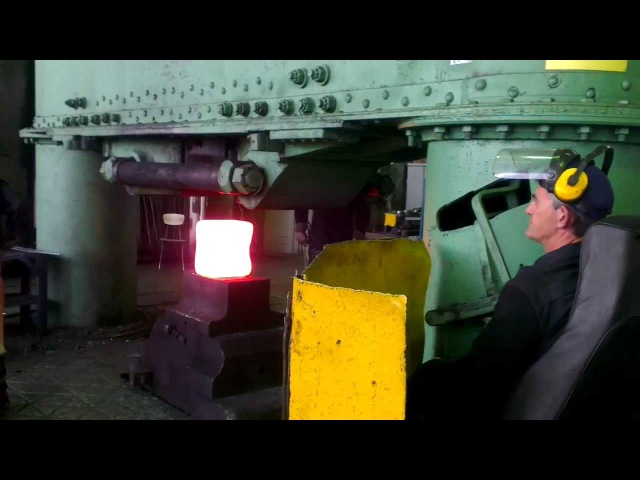 3х тонный молот Поковка массой 330кг 3 x ton hammer Forgings weighing 330 kg