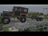 Мод Toyota FJ40 Upgraded для SpinTires 25.12.2015