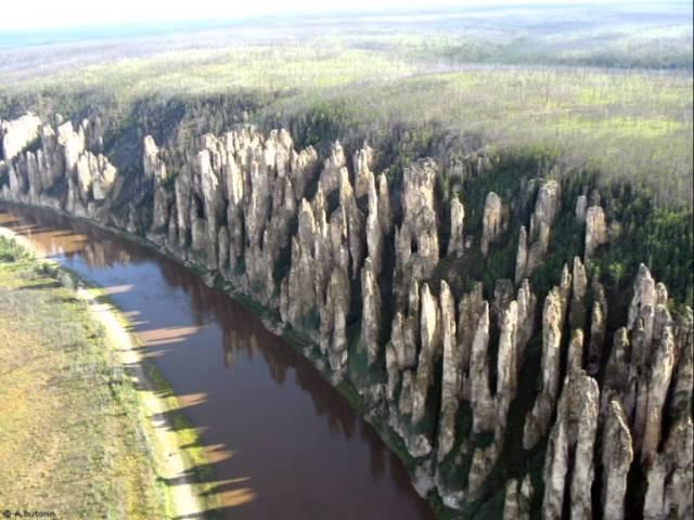 Национальный парк Ленские столбы Россия