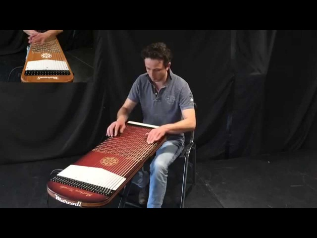 Here comes the sun (the Beatles) on Harpejji K24 and G16 by Mathieu Terrade