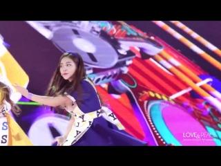 151230 KBS Gayo Daechukje 2015| Red Velvet - Dumb Dumb [Yeri fancam]