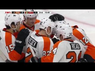 НХЛ 2015-16. 1-й гол Медведева