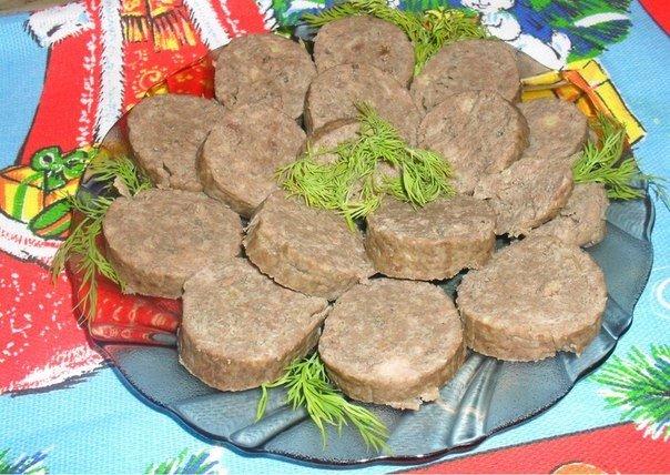 домашняя колбаса печеночная рецепт