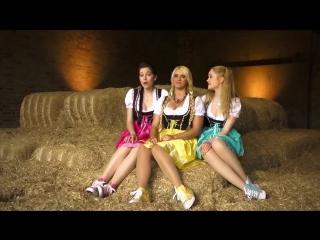 Три немки своей весёлой песенкой