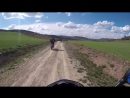 WE WERE NEVER BORN Dual Sport Motorcycle