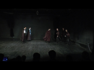 Отрывок по сценическому фехтованию