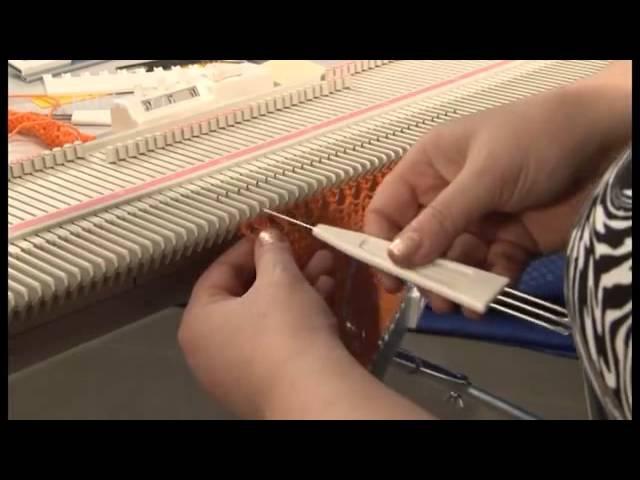 Вязание на машине Silver Reed LK 150