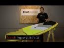 SUP Review – 2016 Naish Raptor V128 / Surf SUP SUPVideo